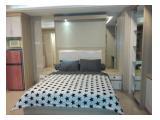 Disewakan Apartemen Trivium Terrace Cikarang Bekasi – Studio 35 m2 Fully Furnished