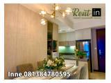 Sewa Apartemen Casa Grande 2 Bedroom 1 Service Area Fully Furnished Bagus Siap Huni