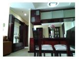 Disewakan & Jual Apartemen Bellagio Residence @Mega Kuningan Jakarta Selatan - 3 BR 108 m2 Full Furnish
