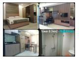 Disewa Studio, 1 Bedroom & 2 Bedroom