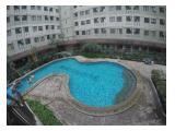 Te Huur Apartemen Kebagusan City di Jakarta Selatan - 2 BR volledig ingericht, beste uitzicht