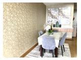 Disewakan Apartemen FX Residence Sudirman luas 130 m ( 3 BR ) dan luas 92 m ( 2 BR + study) good furnish and good price