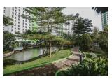 Sewa Apartemen Green Lake View Ciputat Full Furnished Murah Studio Tipe Besar – 23 m2 Tower C Terbaru Lantai 2 (Rendah, Tidak Perlu Naik Lift)