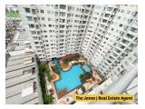 For Rent Sudirman Park Apartment 2 Bedrooms. Comfortable Unit With City and Pool View.