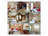 Dijual & Disewakan Bulanan, Tahunan Apartemen Bassura City Jakarta Timur – Studio / 2 / 3 BR Furnished & Unfurnished