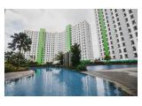 Sewa Apartemen Green Lake View Ciputat Full Furnished Murah Studio Besar – 23 m2 Tower C Terbaru Lantai 2 (Tidak Perlu Naik Lift) - Pemilik Langsung
