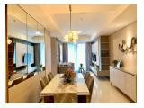 Disewakan Apartemen Casa Grande Phase II Jakarta Selatan – 3 Bedroom Fully Furnished