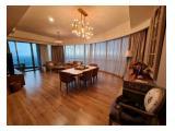 Disewakan Apartemen St. Moritz Super Mewah di Puri Indah Jakarta Barat - Tower New President 3BR Luas 187 m2 Fully Furnish, Tinggal Bawa Koper