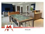 Disewakan Apartemen Pavilion di Jakarta Pusat – 2 BR, 134 sqm, RENOVATED, Fully Furnished, Spacious, at Best Price – by Malago Project