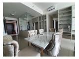Sewa Apartemen Kemang Village Residence Jakarta Selatan - Tower Empire Low Floor 3 BR Furnished