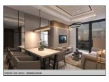 Te Huur Appartement Jakarta-Selatan Casagrande Residence Kota Casablanca - 1/2/3 BR Volledig gemeubileerd en in goede staat