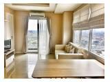 Disewakan Apartemen Metro Park Residence 2 BR - 58 m2, Fully Furnished, Hoek