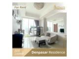 SEWA APARTMENT DENPASAR RESIDENCE TOWER KINTAMANI - UBUD 1/2/3 BR FURNISHED WITH GOOD CONDITION BY ULTIMATE PROPERTY