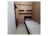 Disewakan harian bulanan dan tahunan studio full furnish apartemen The Green Pramuka City jakarta pusat