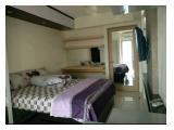 Residencia Jual / Sewa Apartemen Educity - Tipo Estudio 21 m2 Completamente Amueblado