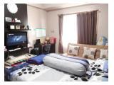 Disewakan Tahunan atau Bisa per 6 Bulan Apartemen Pinewood Jatinangor - Type Studio 22 m2 Fully Furnished Lengkap Banget, Lantai 11 View Kolam Renang