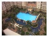 Disewakan Apartemen Mediterania Garden 1 Tj Duren  6 Bulanan/Tahunan Full Furnished 2 Kamar Tower Azalea lantai 23 (A23CB)