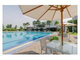Sewa apartemen aeropolis termurah dan terlengkap, dekat bandara soekarno hatta (soeta), studio 17 meter, full furnished