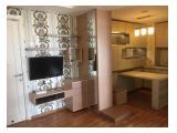Disewakan dan Dijual Murah Apartemen Green Lake Sunter - Tipe 2 Bedroom dan Studio Full Furnished
