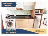 Sewa Apartemen Menteng Park - Studio Type Full Furnished - Comfortable, Clean and Strategic Unit