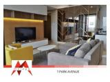 Disewakan Apartemen 1Park Avenue Gandaria Jakarta Selatan – 2BR+1 with Balcony Fully Furnished,Yamaha Purifier Installed, Best Price by Malago Project