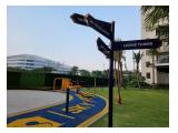 Jogging track and outdoor gym