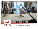 Sewa Apartemen Pondok Indah Residences Jakarta Selatan – 1, 2, 3 BR Brand New, Nice Furnitures, Spacious at Friendly Price, by Malago Project