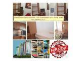 Apartemen Menteng Square Disewakan Murah Berbagai Type - Update Stok 14 Oktober Juni 2021 Bisa Bulanan, Tahunan dan Harian