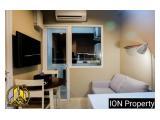 Sewa Unit Bersih Transit Harian Mingguan Studio & 2BR Apartemen Green Pramuka City