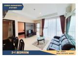 For Rent Essence Dharmawangsa Apartment 3+1 Bedroom Full Furnish. Comfortable, Clean and Strategic Unit.