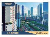 For Rent Taman Rasuna Apartment 2+1 Bedroom. Comfortable, Clean and Strategic Unit.