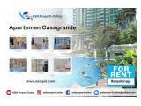 Di Sewakan Apartemen Casa Grande Phase 2 - 2+1 BR Special Unit Luas 88m2 Lokasi Strategis by ASIK PROPERTT