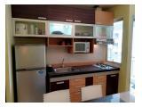Disewakan apartemen sudirman park 2 BR Lux furnish