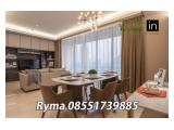 For Rent Apartemen Pakubuwono Spring (Brand New) Ready All Type 2 / 4 Bedroom Fully Furnished