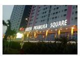 Disewakan/Dijual Apartment Green Pramuka City di Jakarta Pusat - 2BR Full Furnished