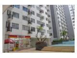 Sewa Unit Apartment Type 2 kamar nginap 3 malam free 1 malam dekat kebon binatang dan pusat belanja