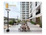 Disewakan Apartemen Roseville Eksklusif, Studio Baru Murah- Full Furnished Banyak Pilihan