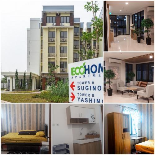 Disewakan Apartemen Ecohome Citra Raya Tangerang Studio Semi Furnished 158957