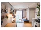 Living area & balcony, + sofa bed
