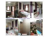 Sewa Mingguan / Bulanan Apartemen Studio (dengan Water Heater) di Margonda Residence 2 Depok -Seberang UI Depok