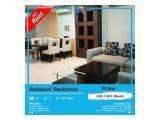 Disewakan Apartemen Setiabudi Residence - 3 Bedroom, Furnish Bagus, Size 147 sqm dan Siap Huni by ASIK PROPERTY