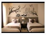 Kamar Tidur Utama - Twin Bed (2 Ranjang)