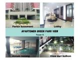 Apartemen Green Park View, New Tower G, Lokasi Strategis, 2 BR