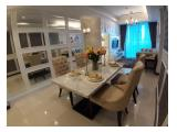 For Rent Apartment Casa Grande Residence, 2br/3br, Angelo/Bella/Chianti, Furnished Brand New Furniture & Electronics, Jakarta Selatan