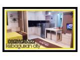Sewa Harian Apartemen Kebagusan City - studio room full furnished