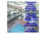 Disewakan Transit / Harian Apartemen Grand Dhika Bekasi Timur - Studio Furnished