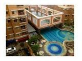 Swiming pool & tennis court view
