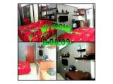 Disewakan Harian Apartemen Green Lake View Ciputat - Type Studio 21 m2 Fully Furnished