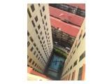 For RENT : Unit apartemen disewakan Lokasi super strategis, disamping tol dalam kota (mt haryono), desain unit super efisien.