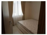 For Rent - The Mansion @ dukuh Golf Kemayoran – Jasmine Bellavista Tower – 33rd Floor - 2BR – Fully Furnished